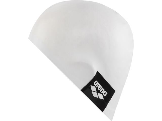 arena Logo Moulded Bonnet de bain, white